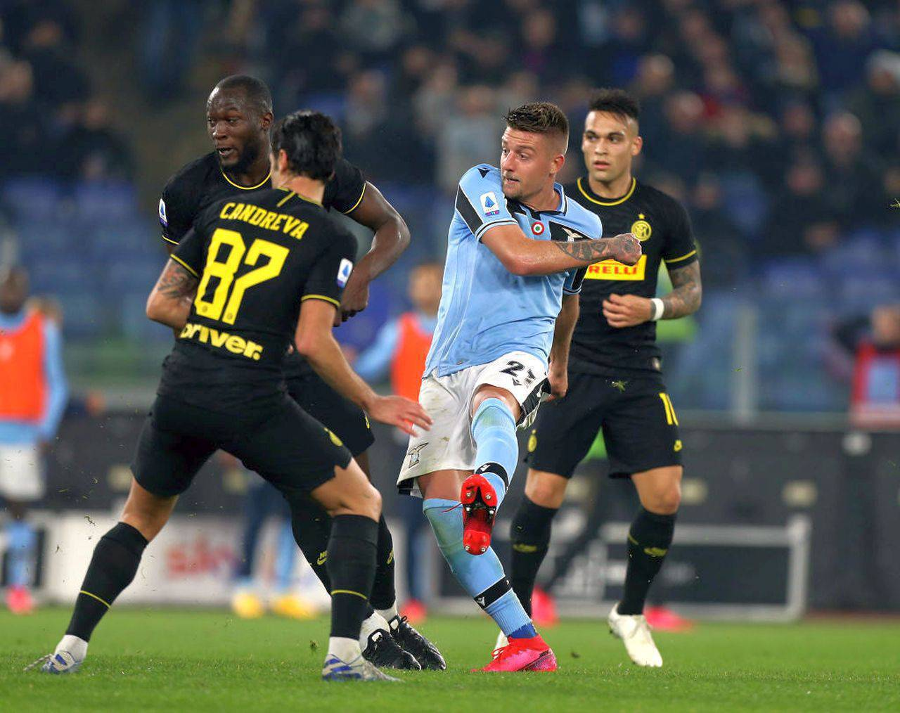 Serie A Lazio-Inter (Getty Images)