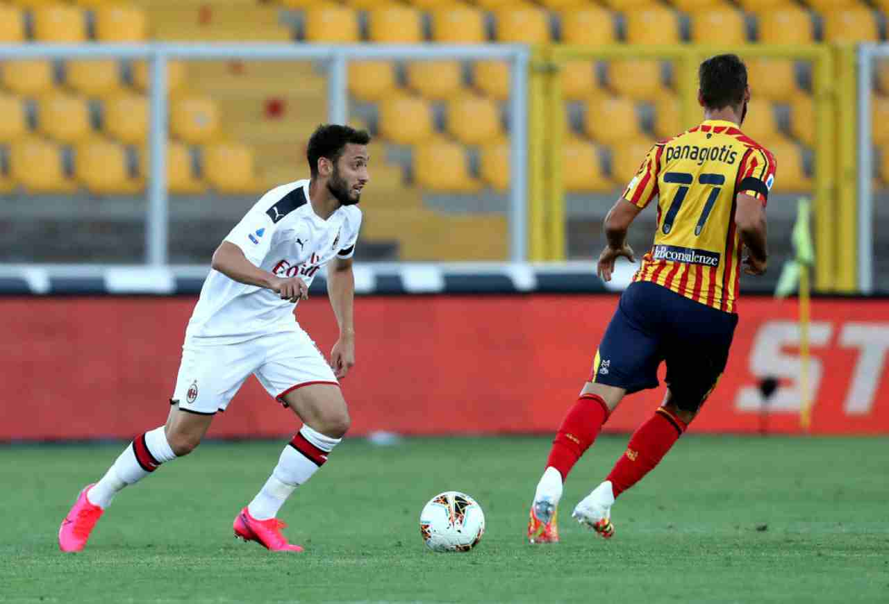 LIVE Lecce-Milan (Getty Images)