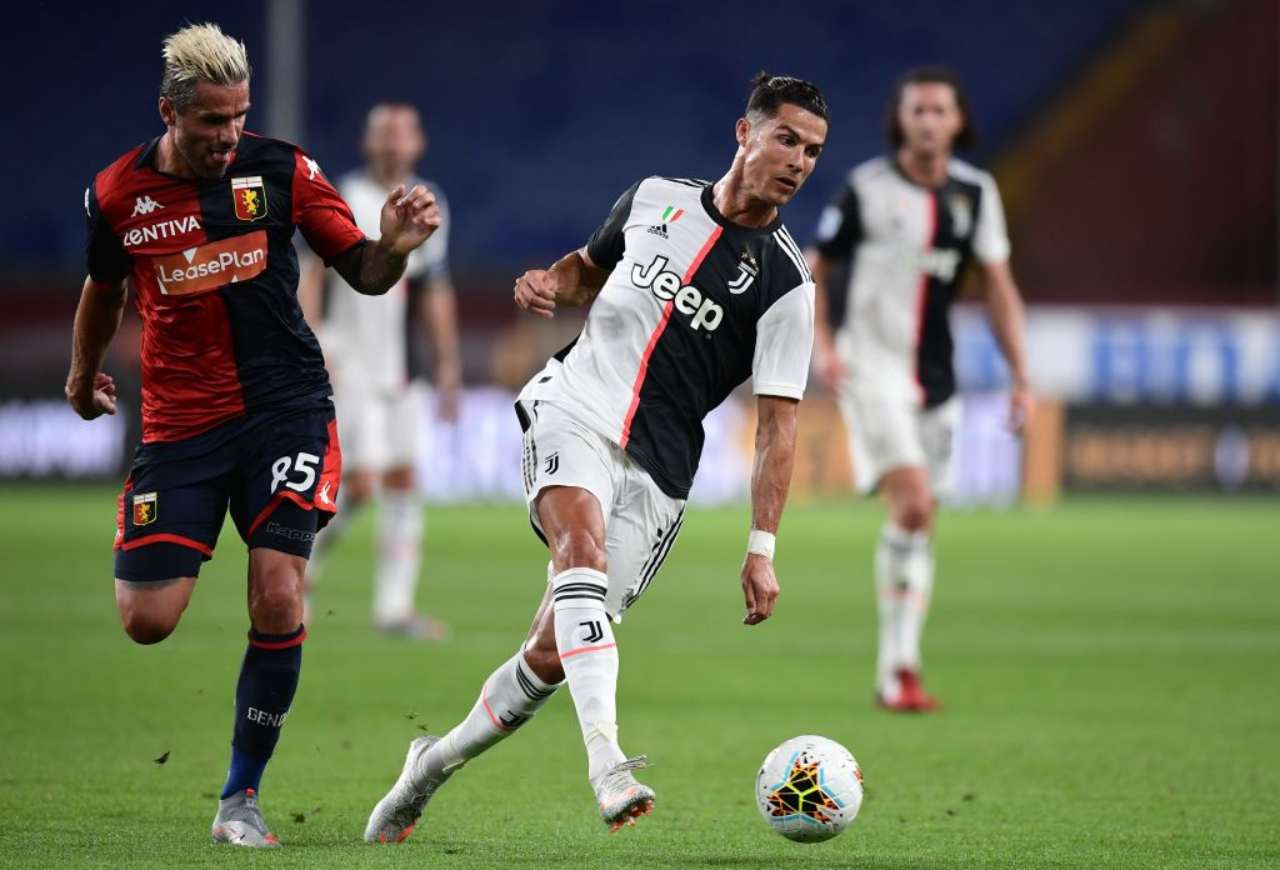Genoa-Juventus: Dybala, Ronaldo e Douglas Costa: tris di prodezze (Getty Images)
