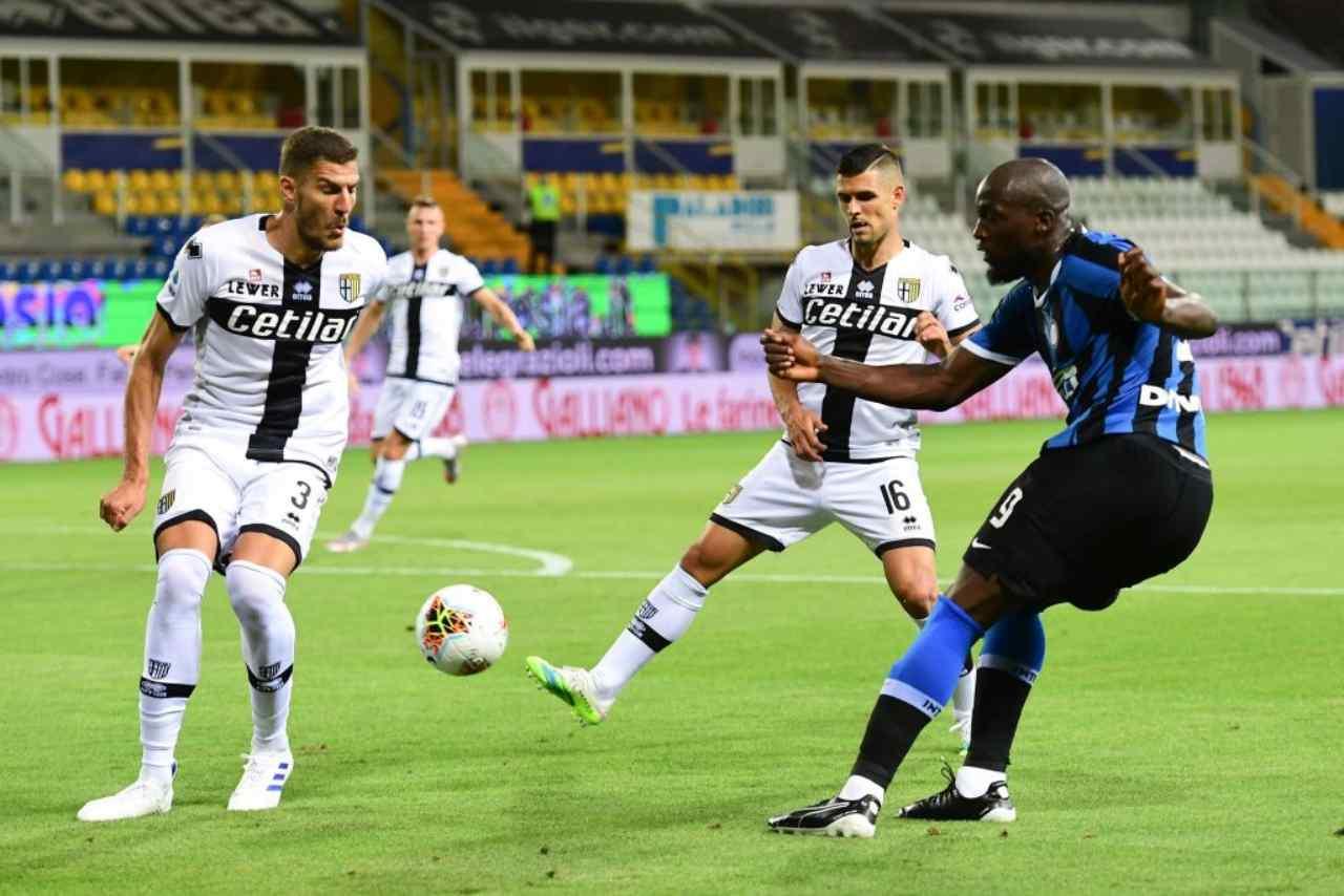 Parma-Inter: De Vrij e Bastoni, tre punti in due minuti (Getty Images)