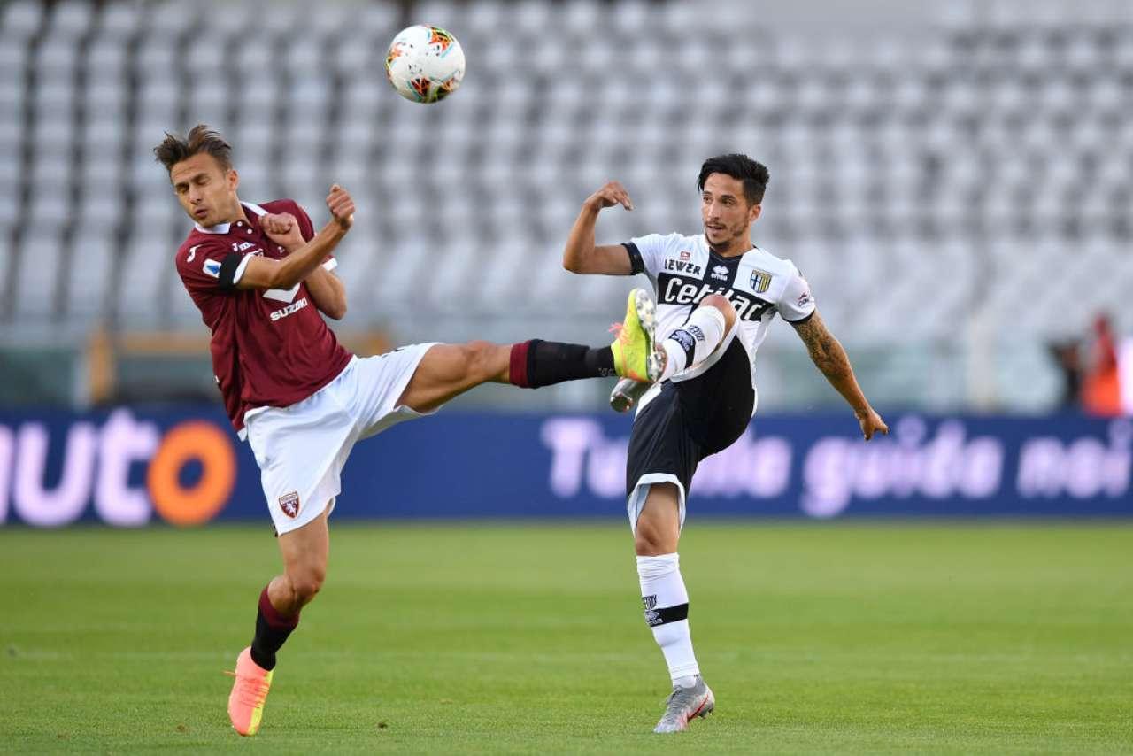 Torino-Parma 1-1, Kucka risponde a Nkoulou. Belotti sbaglia un rigore (Getty Images)
