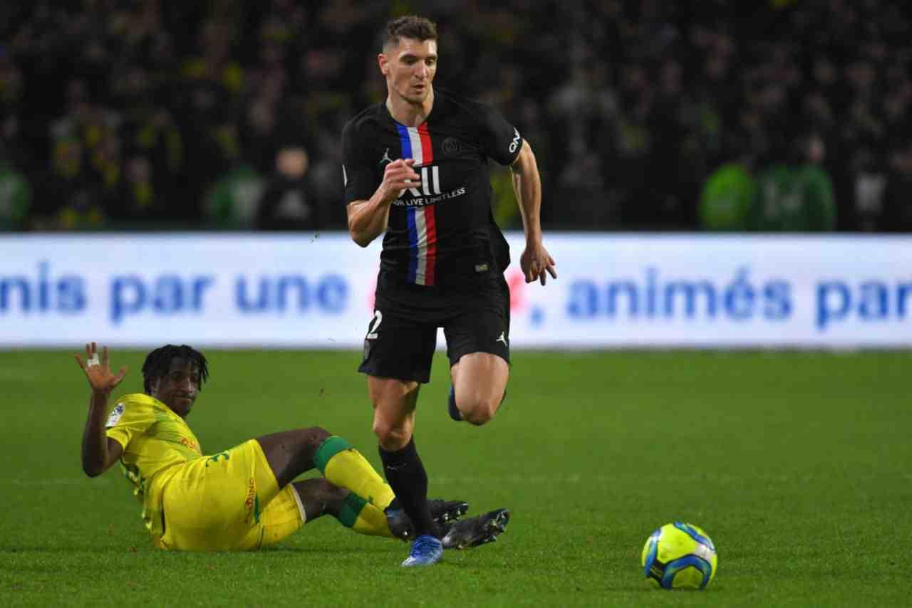 """Meunier, """"giallo"""" Champions League: la richiesta del Borussia Dortmund"""