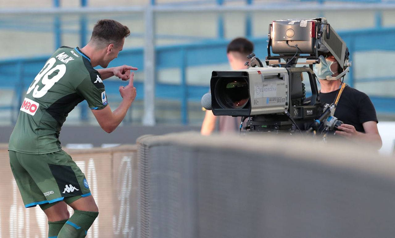 Milik alla Juventus: avanti tutta. No al rinnovo col Napoli