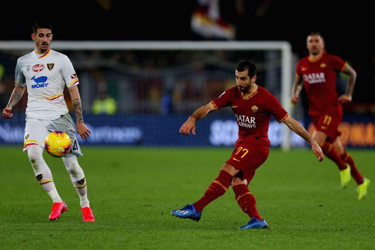 Mkhytarian, la Roma vuole trattenerlo: proposto un attaccante all'Arsenal (Getty Images)