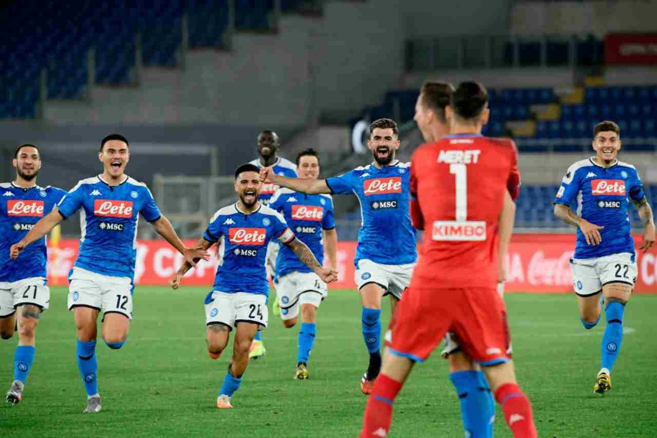 Napoli-Juve, l'agente spiega il gesto di Politano