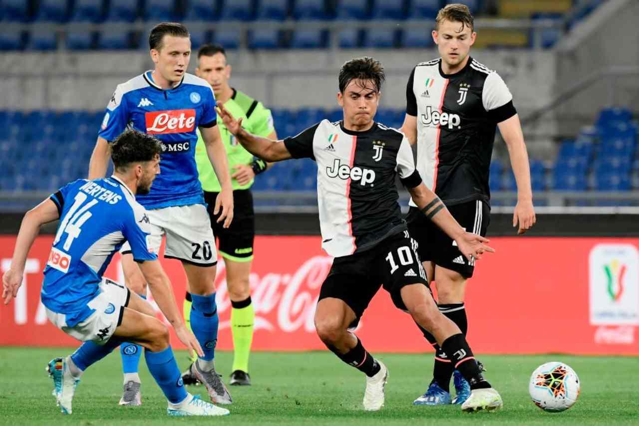 Napoli-Juventus 4-2 dcr: Coppa Italia a Gattuso. Dybala e Danilo, che errori (Getty Images)