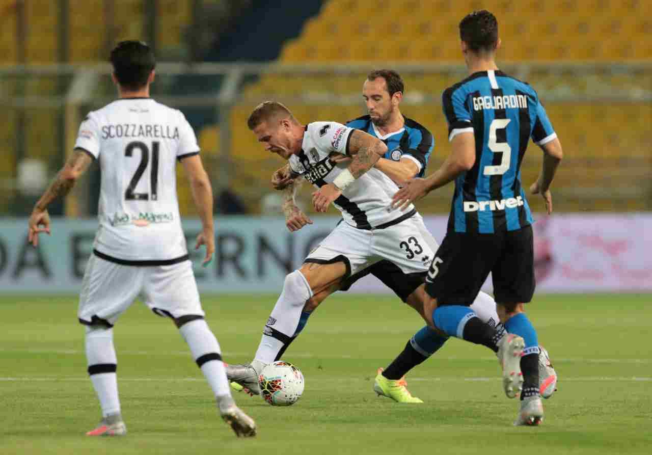 Moviola Parma-Inter: rigore mancato per i nerazzurri, l'analisi degli episodi