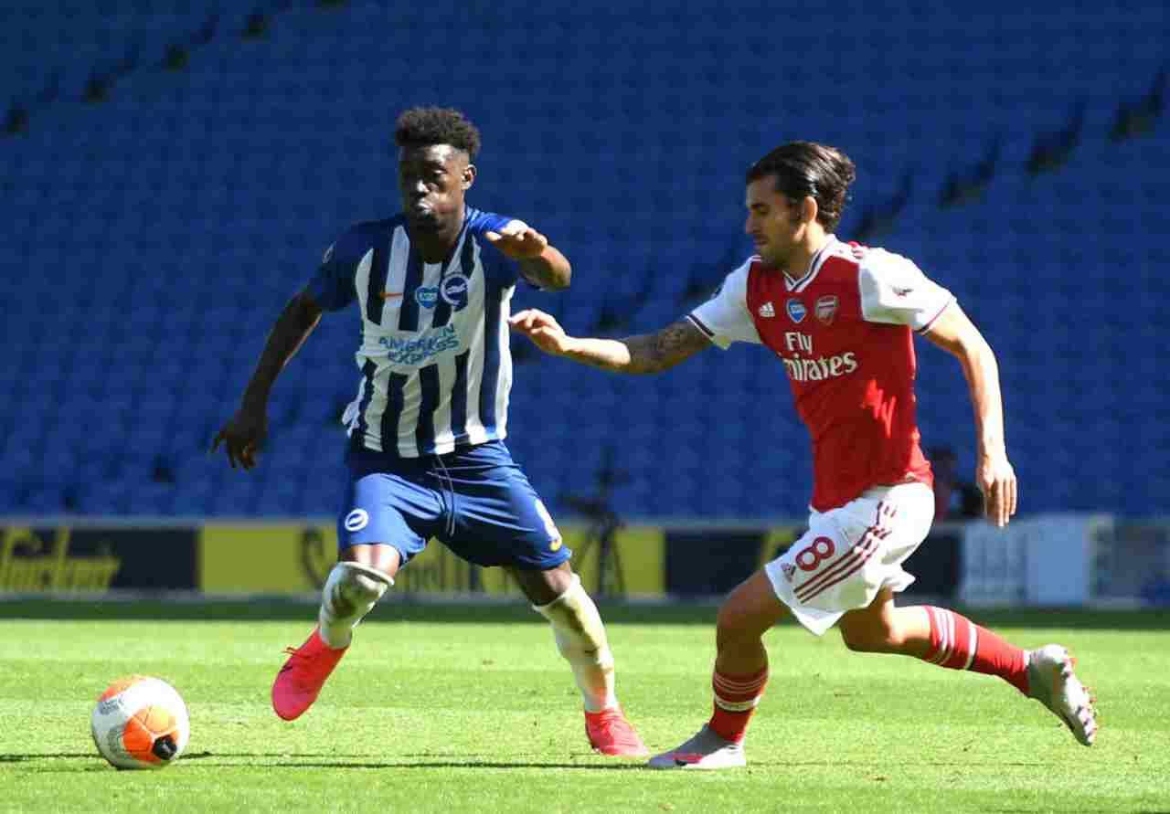 Il Brighton batte l'Arsenal in Premier League