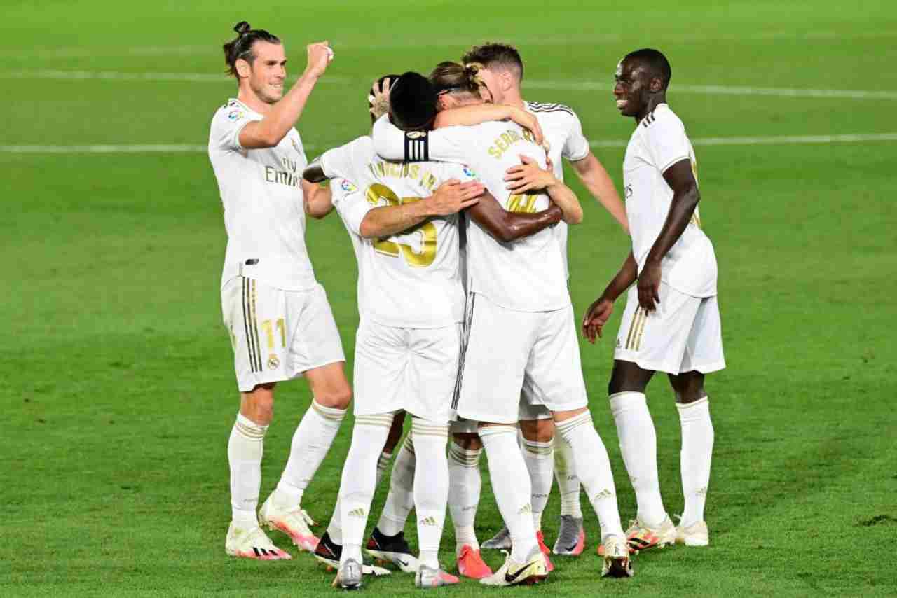 Liga: il Real Madrid piega il Mallorca, decidono Vinicius e Sergio Ramos