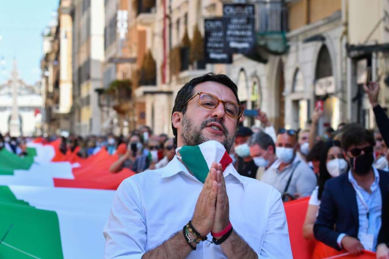 Salvini attacca De Luca, che bordata per i festeggiamenti post Napoli-Juventus (Getty Images)