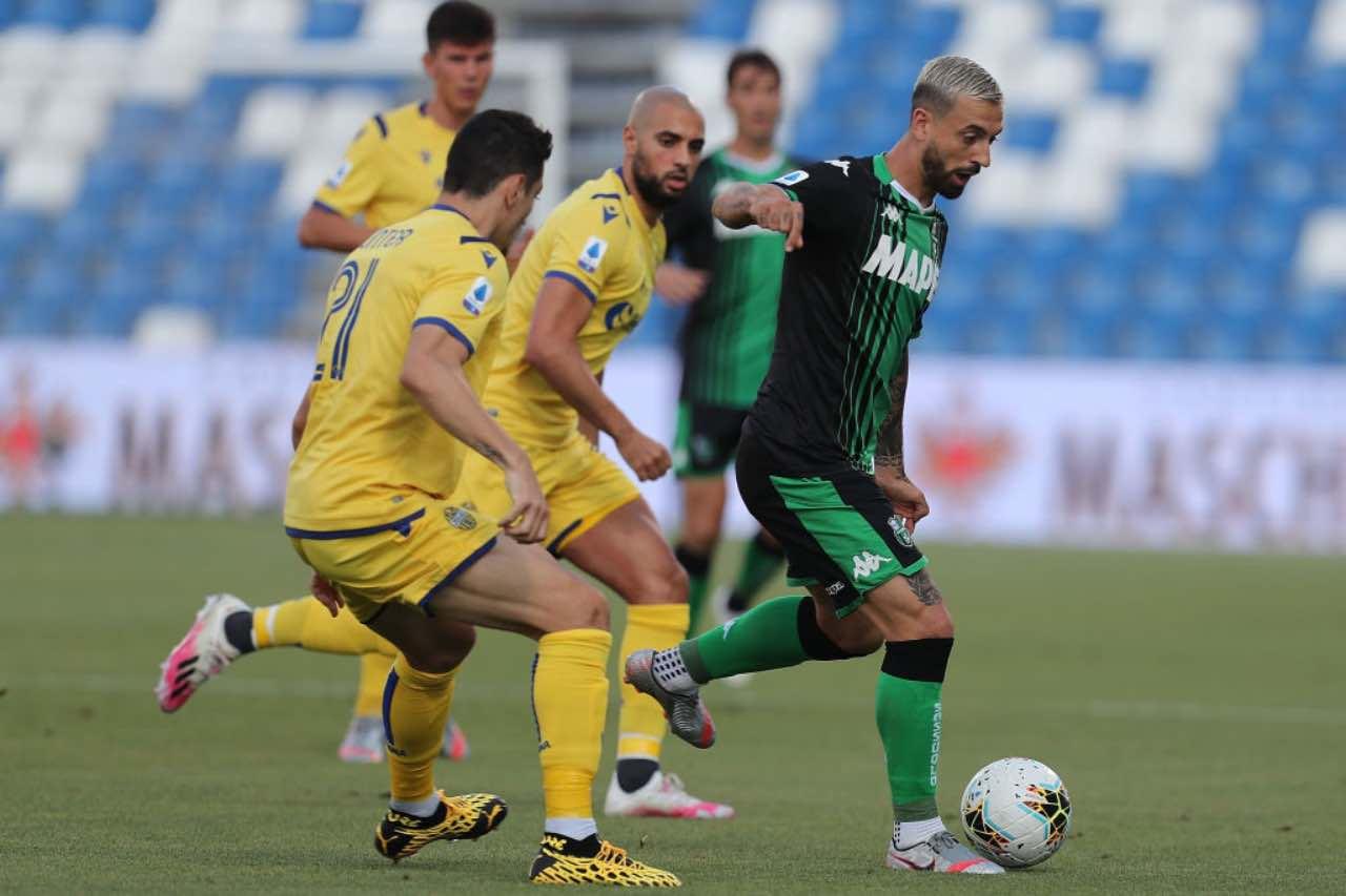 Serie A, highlights Sassuolo-Verona: gol e sintesi del match - Video