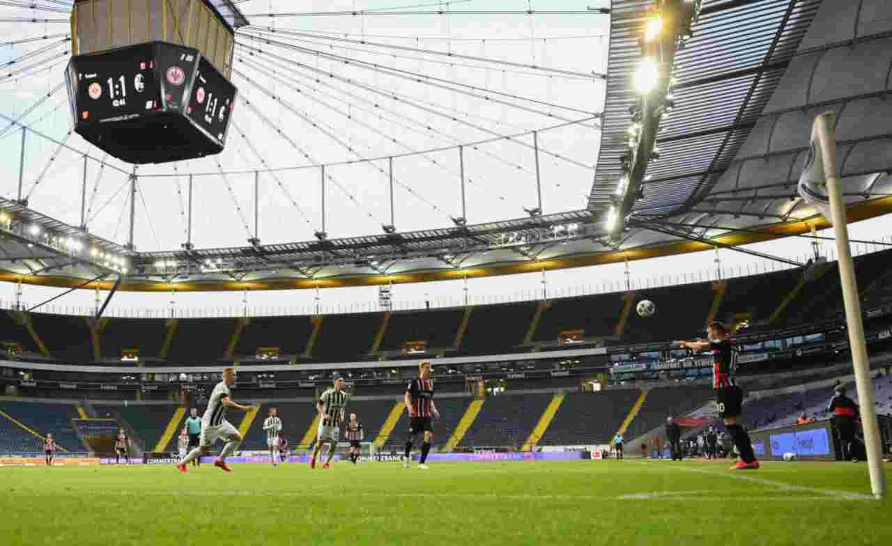 Lo stadio dell'Eintracht Francoforte, interessato a ospitare l'eventuale Final 8 di Champions