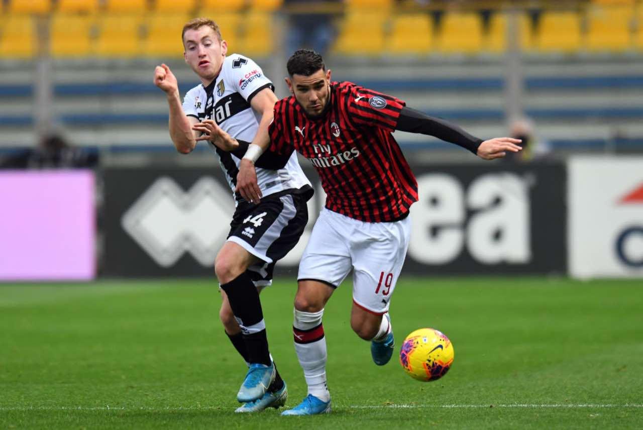 Theo Hernandez, cresce il pressing del PSG: la posizione del Milan (Getty Images)