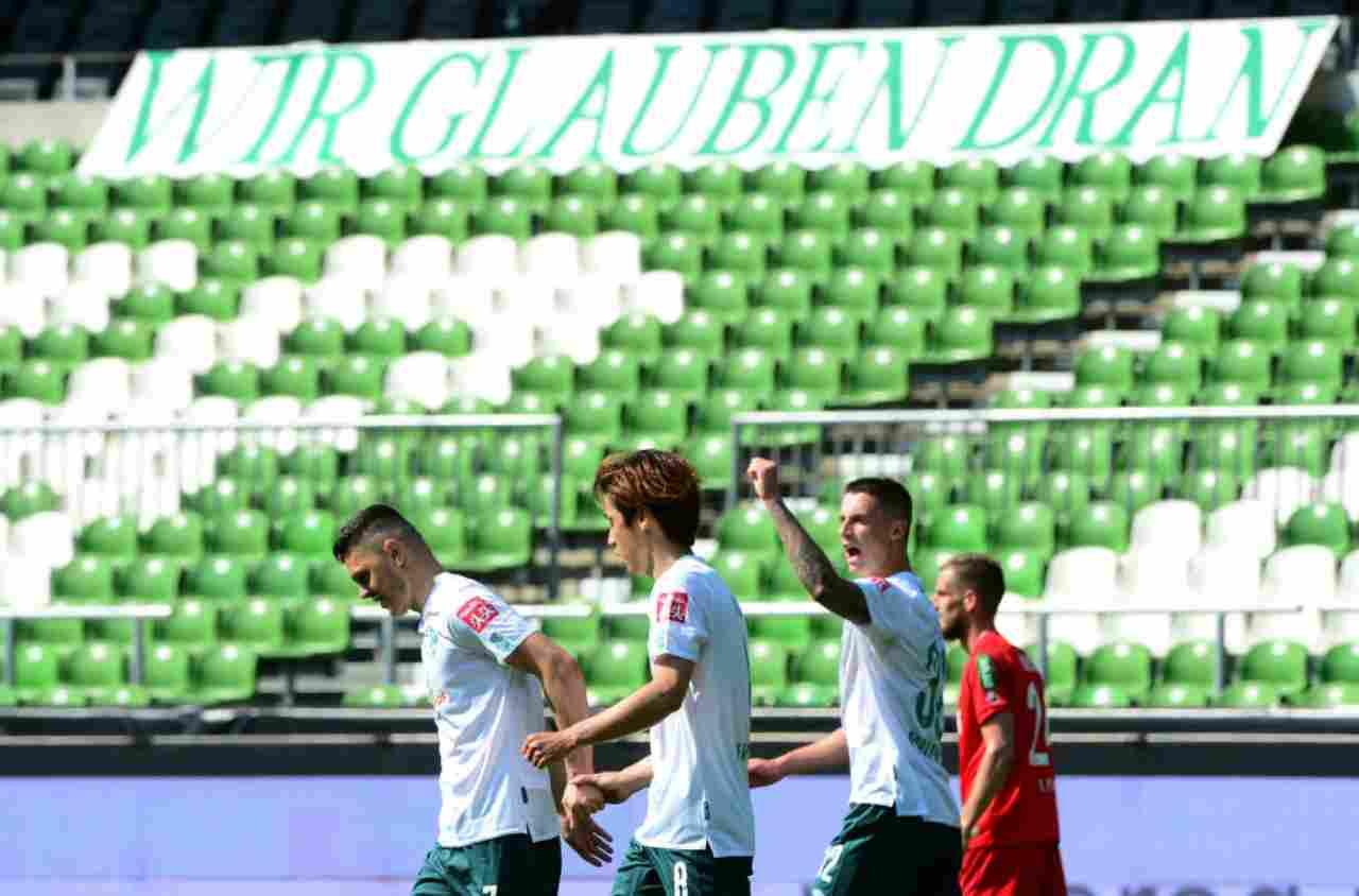 Bundesliga, il Werder Brema allo spareggio salvezza