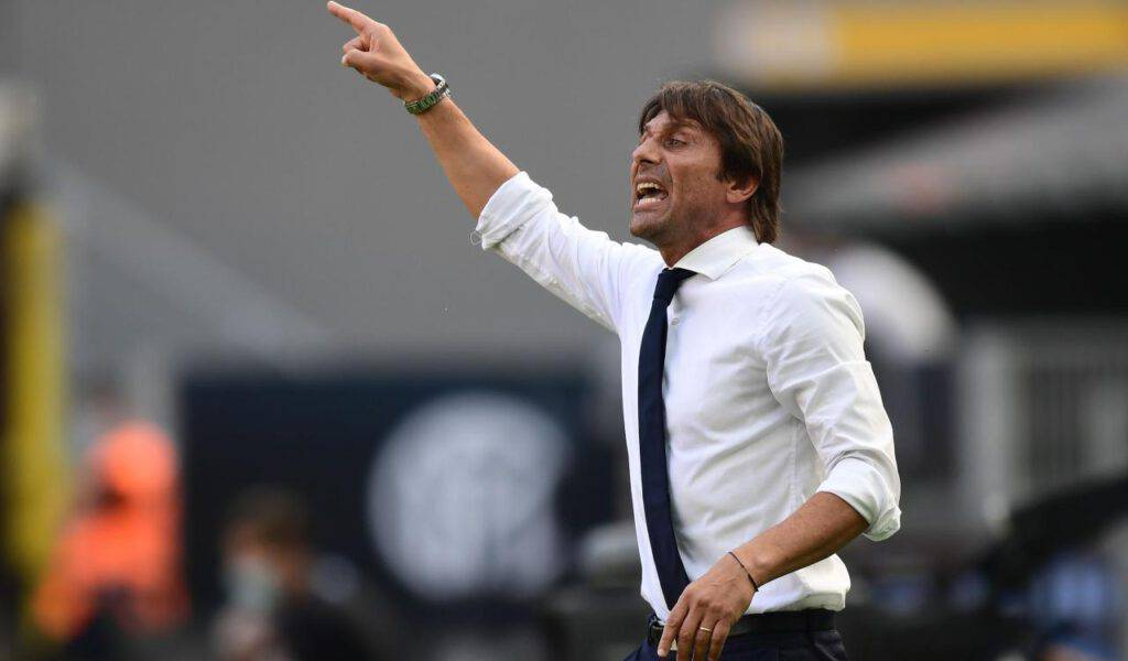Antonio Conte nel post-partita di Verona-Inter (Getty Images)