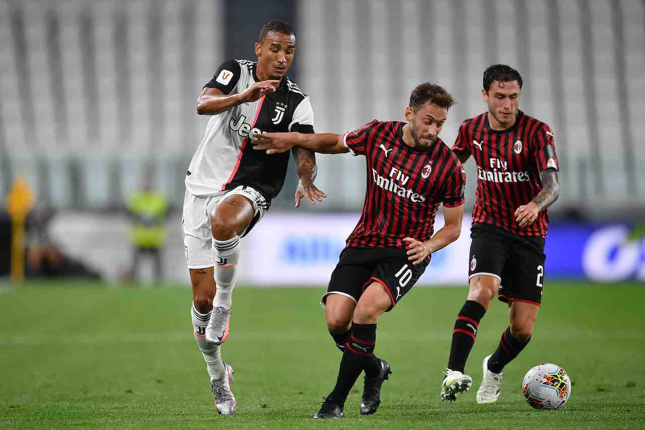 Dove vedere Milan-Juventus (Getty Images)