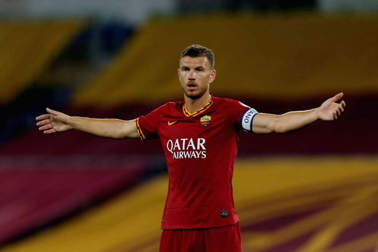 Dzeko, obiettivo di Inter e Juve (Getty Images)