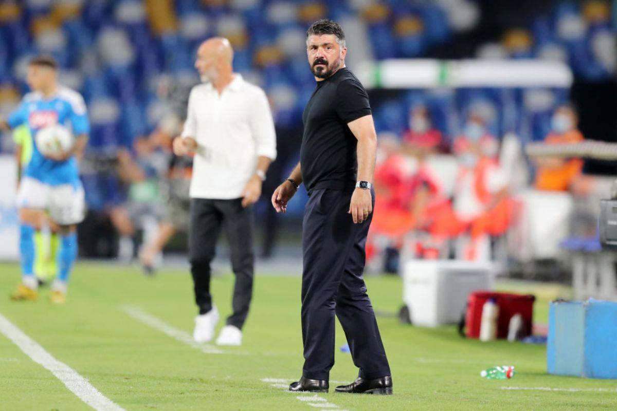 Gattuso Napoli-Milan