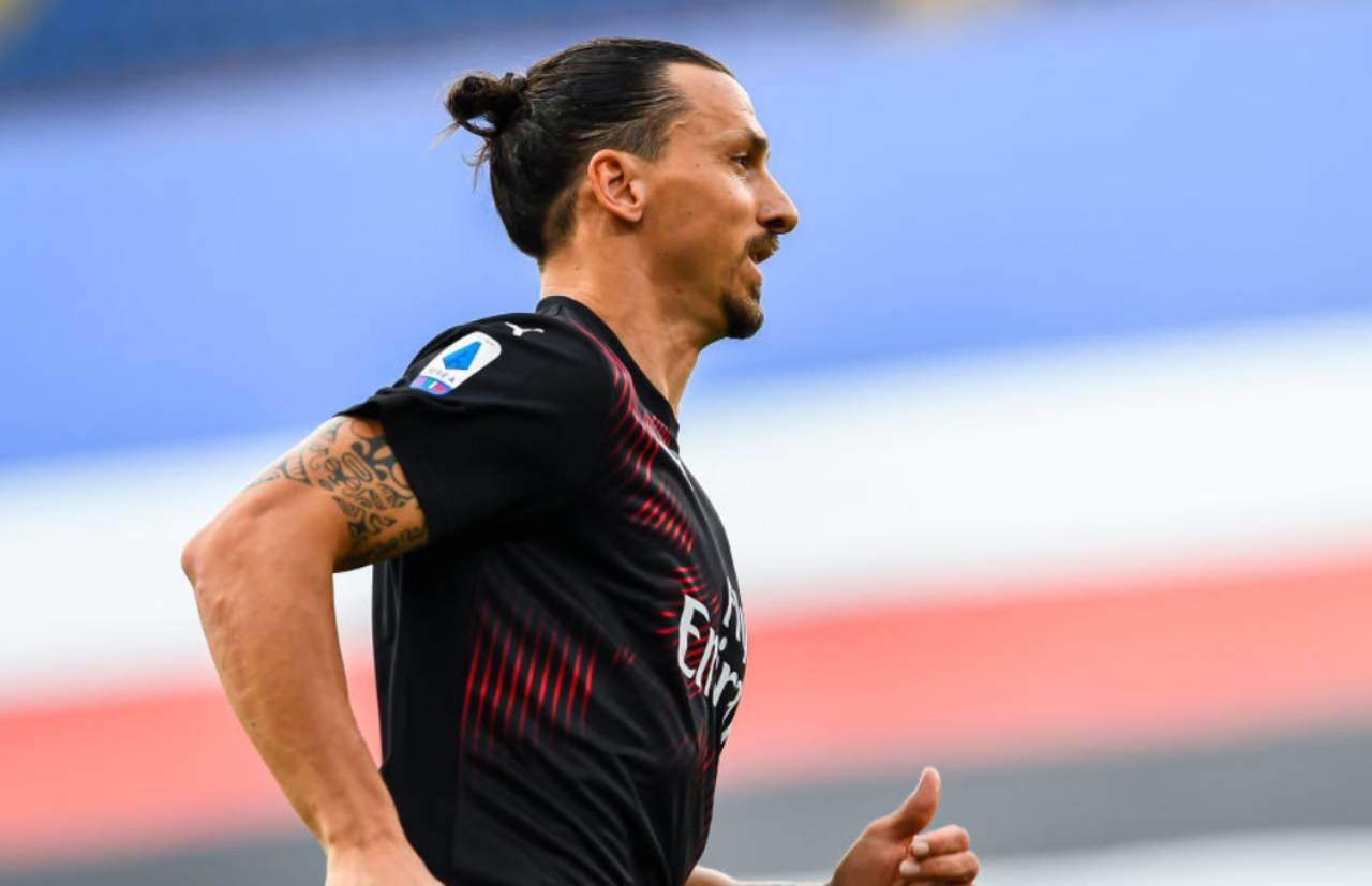 Ibrahimovic, discusso il rinnovo col Milan (Getty Images)