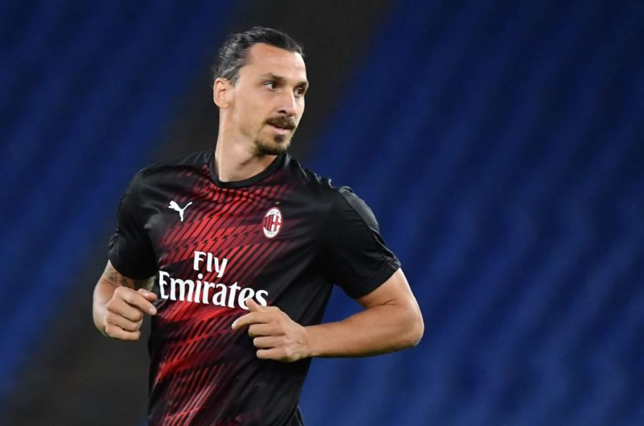 Ibrahimovic, le parole dell'attaccante del Milan (Getty Images)