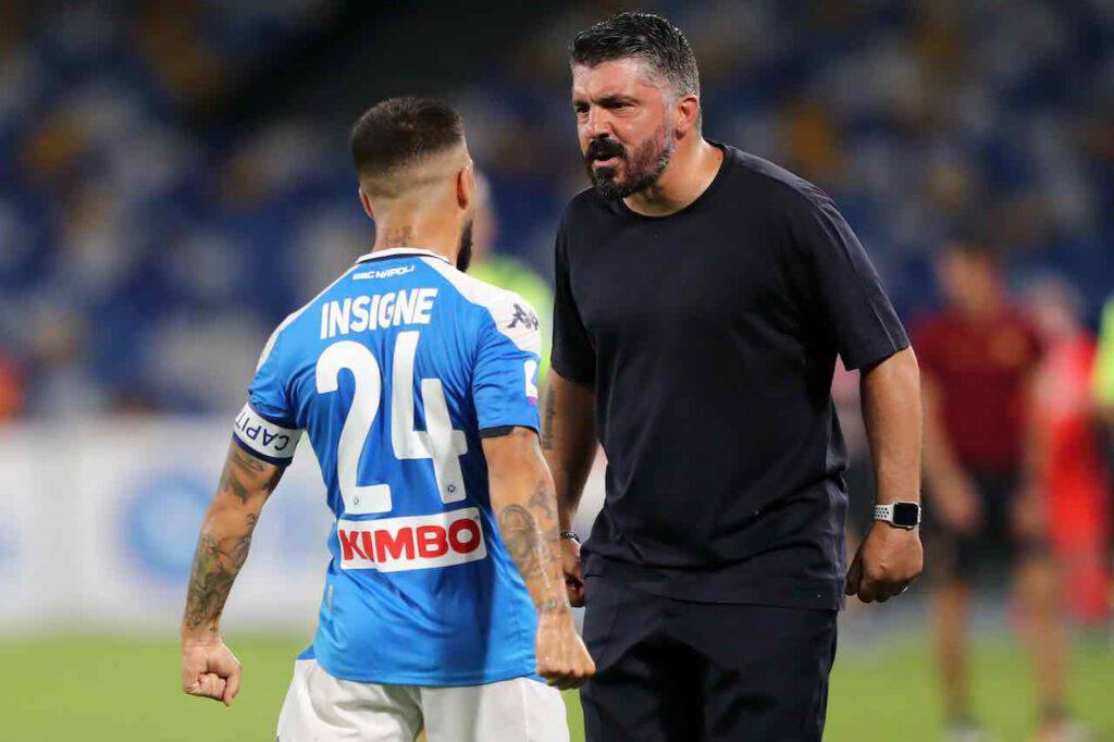 Le parole di Gattuso dopo Napoli-Roma (Getty Images)