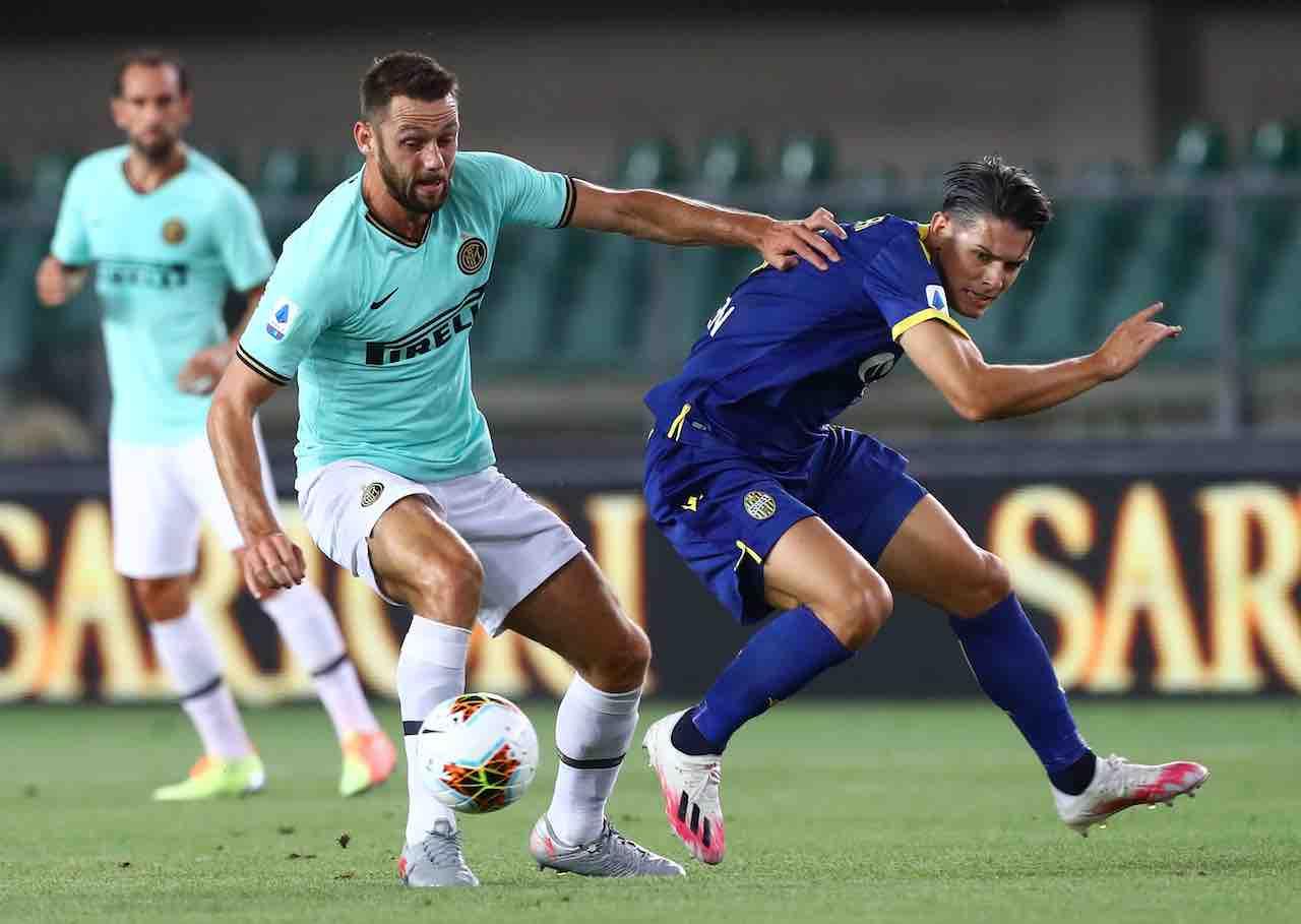 Verona-Inter, pagelle della Gazzetta (Getty Images)