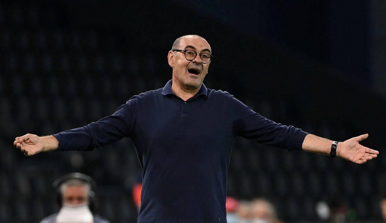 Maurizio Sarri, futuro in bilico con il Lione (Getty Images)