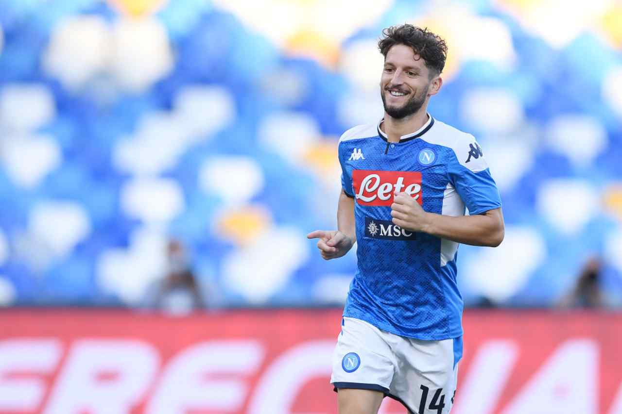 Mertens e i retroscena con il Napoli (Getty Images)