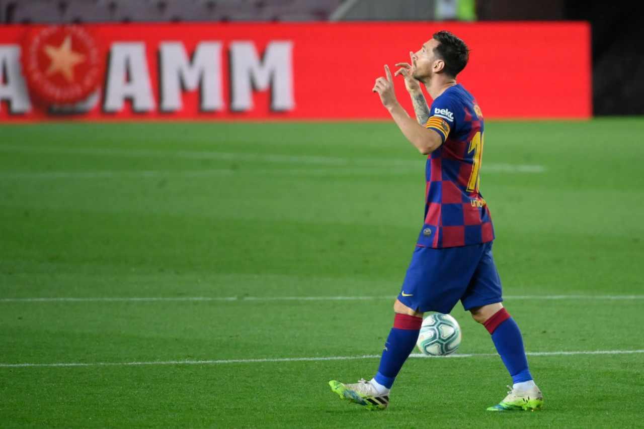 Barcellona-Napoli, Setien vuole un Messi diverso: il piano