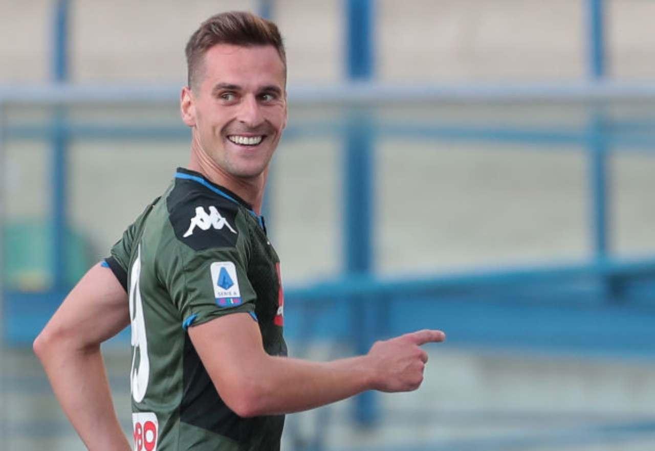 Milik, Juventus insidiata da un'altra società di Serie A (Getty Images)