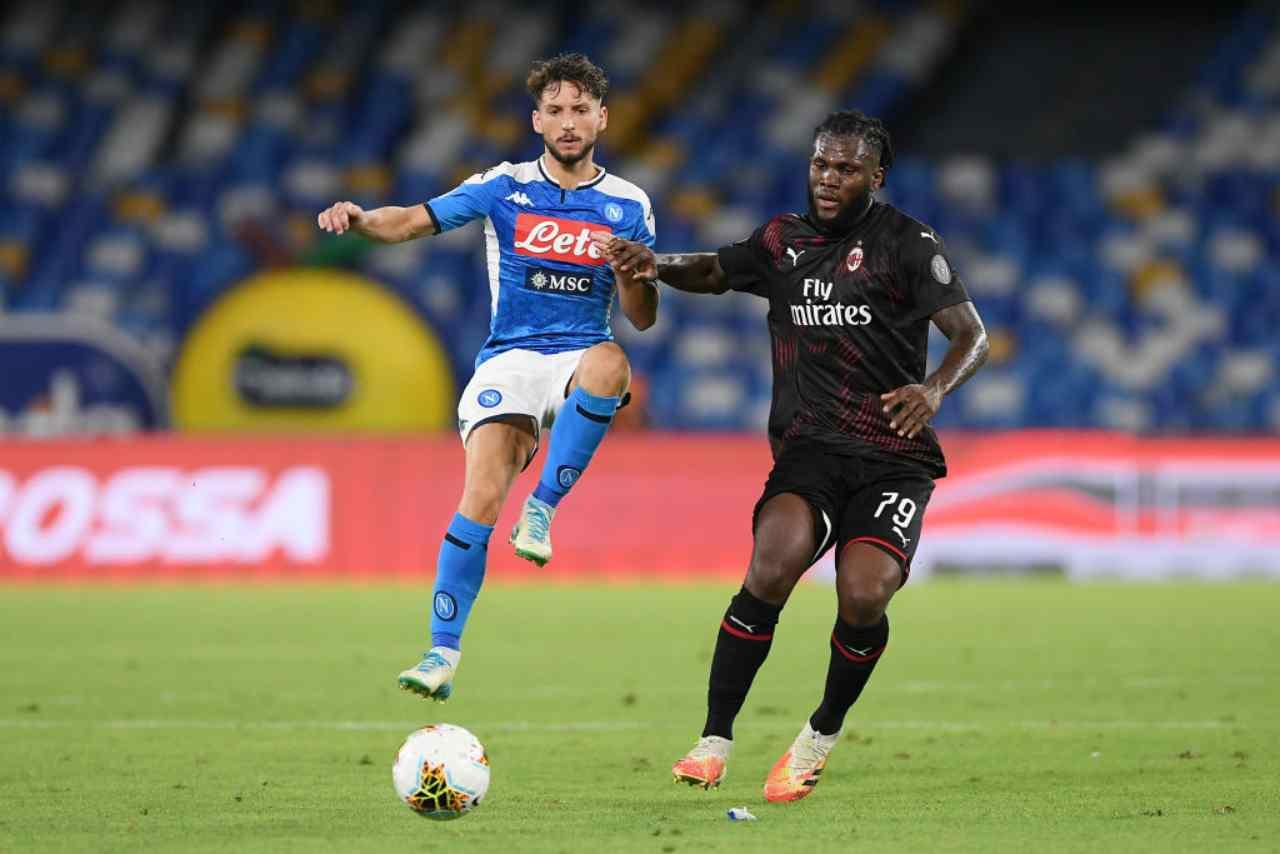 Napoli-Milan, i voti della partita (Getty Images)