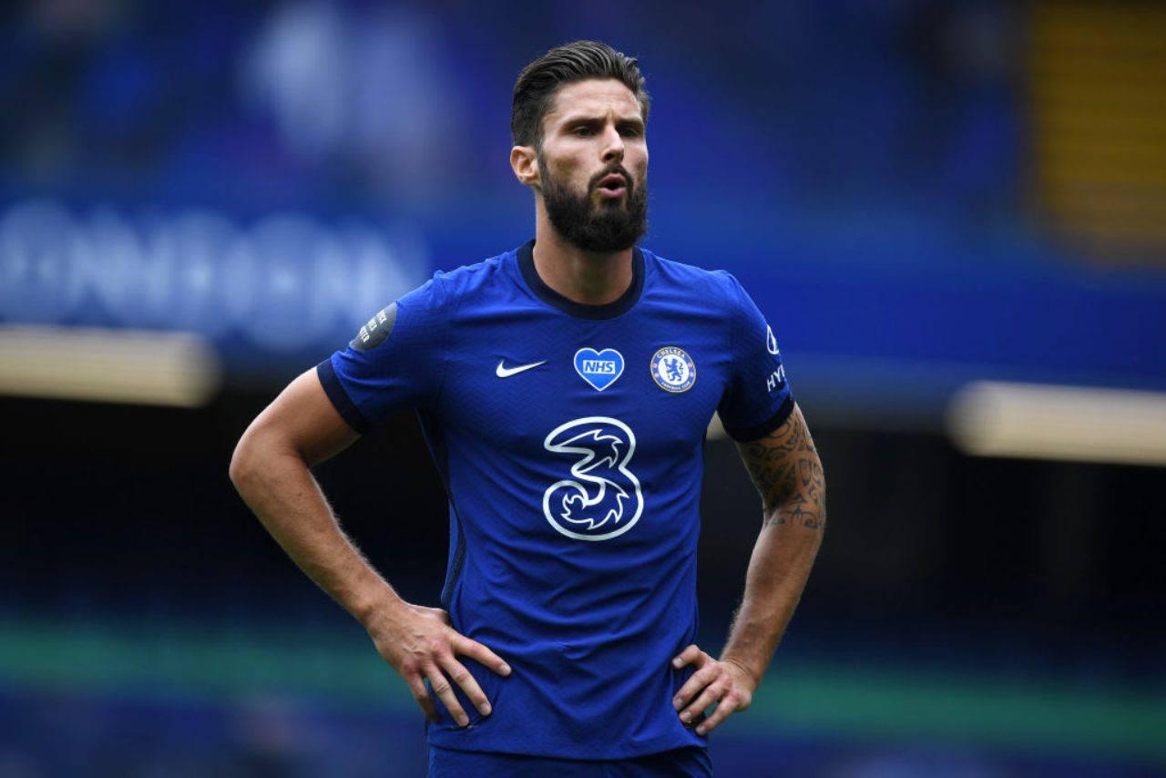 Olivier Giroud ha deciso il suo futuro: rimanere al Chelsea (Getty Images)