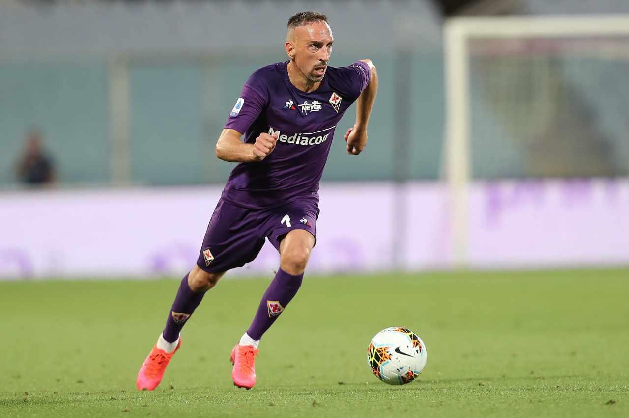 Ribery Fiorentina Infortunio
