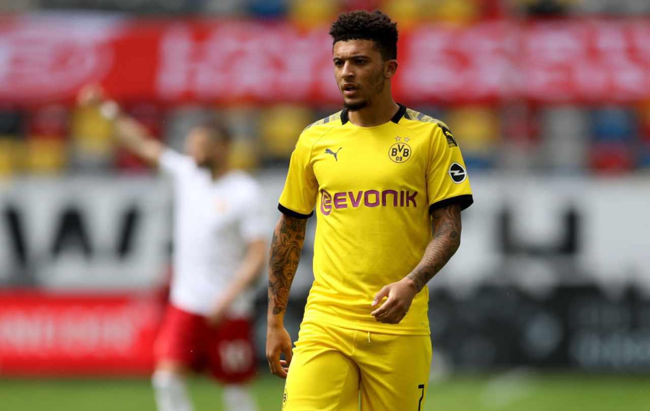 Jadon Sancho, il trasferimento allo United aiuta Roma e Inter (Getty Images)
