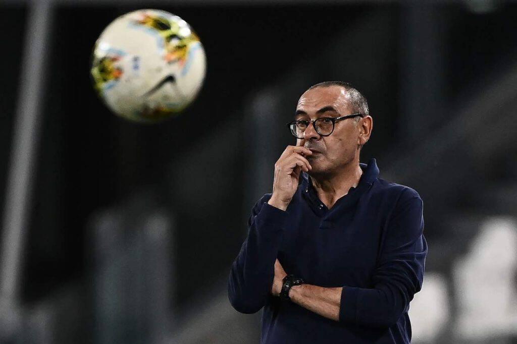Sarri vince il suo primo Scudetto da allenatore con la Juventus (Getty Images)