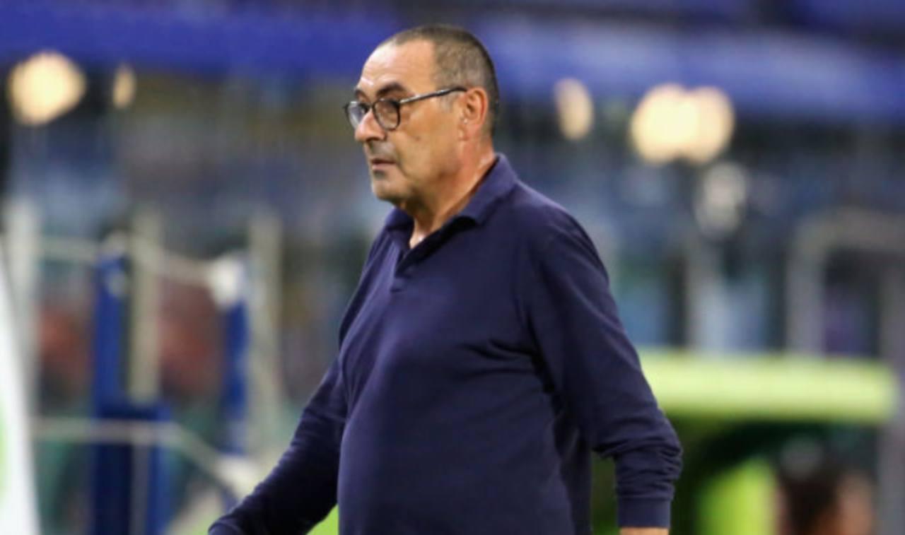 Sarri alla vigilia di Juventus-Roma (Getty Images)