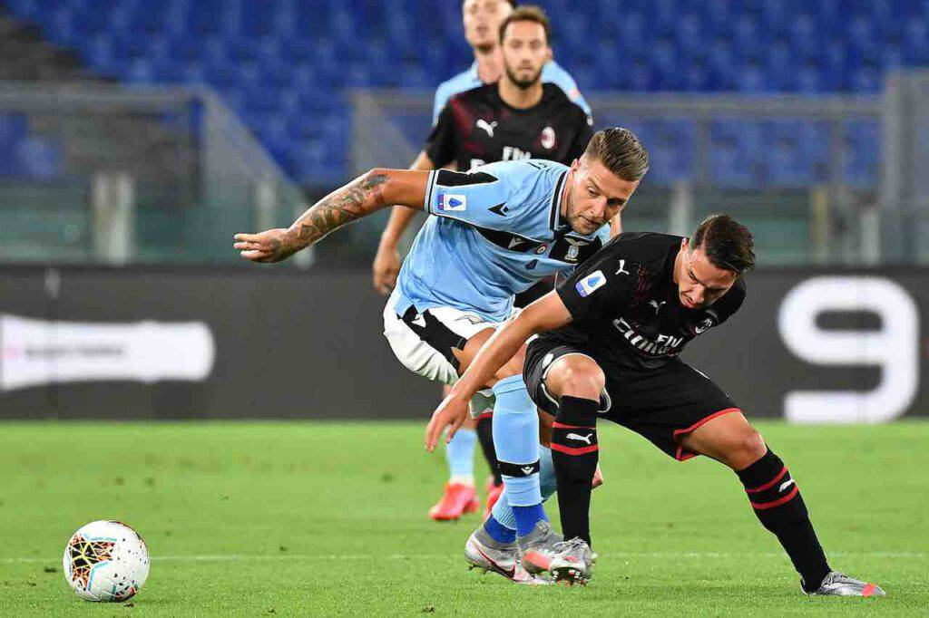 Serie A, highlights di Lazio-Milan (Getty Images)