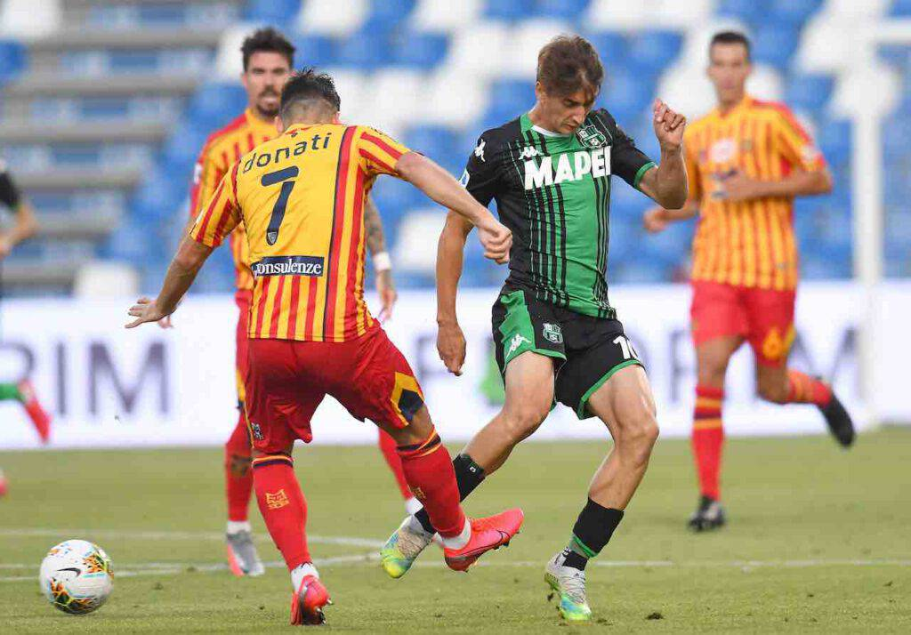 Serie A, highlights Sassuolo-Lecce (Getty Images)
