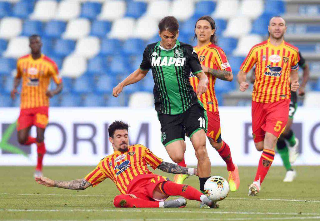 Serie A, sintesi di Sassuolo-Lecce (Getty Images)
