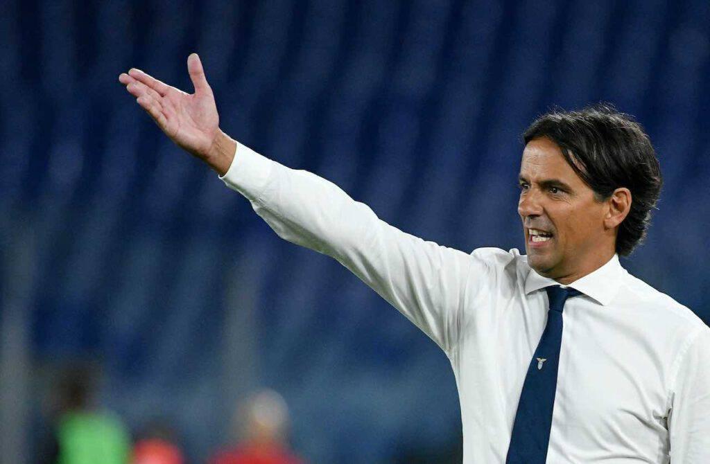 Simone Inzaghi, post-partita Lazio-Milan (Getty Images)