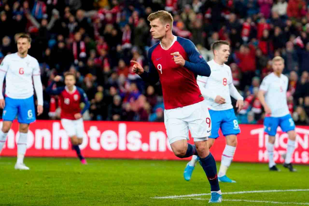 Napoli, Sorloth come alternativa ad Osimhen (Getty Images)