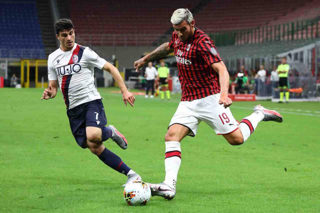 Theo Hernandez avanti con il Milan, il PSG si arrende (Getty Images)
