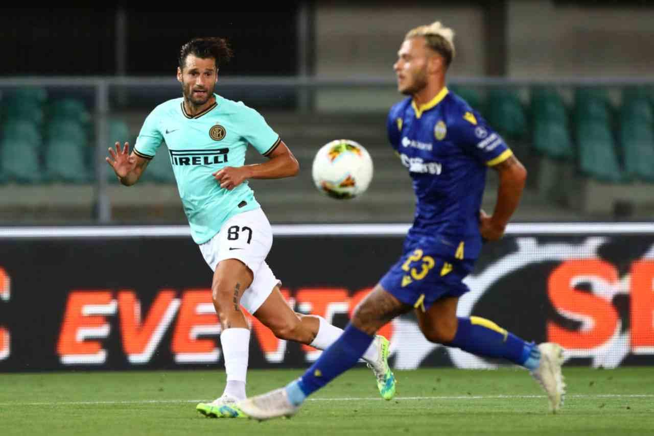 Verona-Inter, i voti del match (Getty Images)