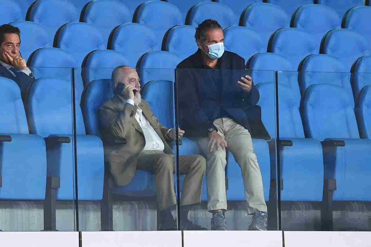 Aurelio De Laurentiis ha presentato il suo progetto ai presidenti di Serie A
