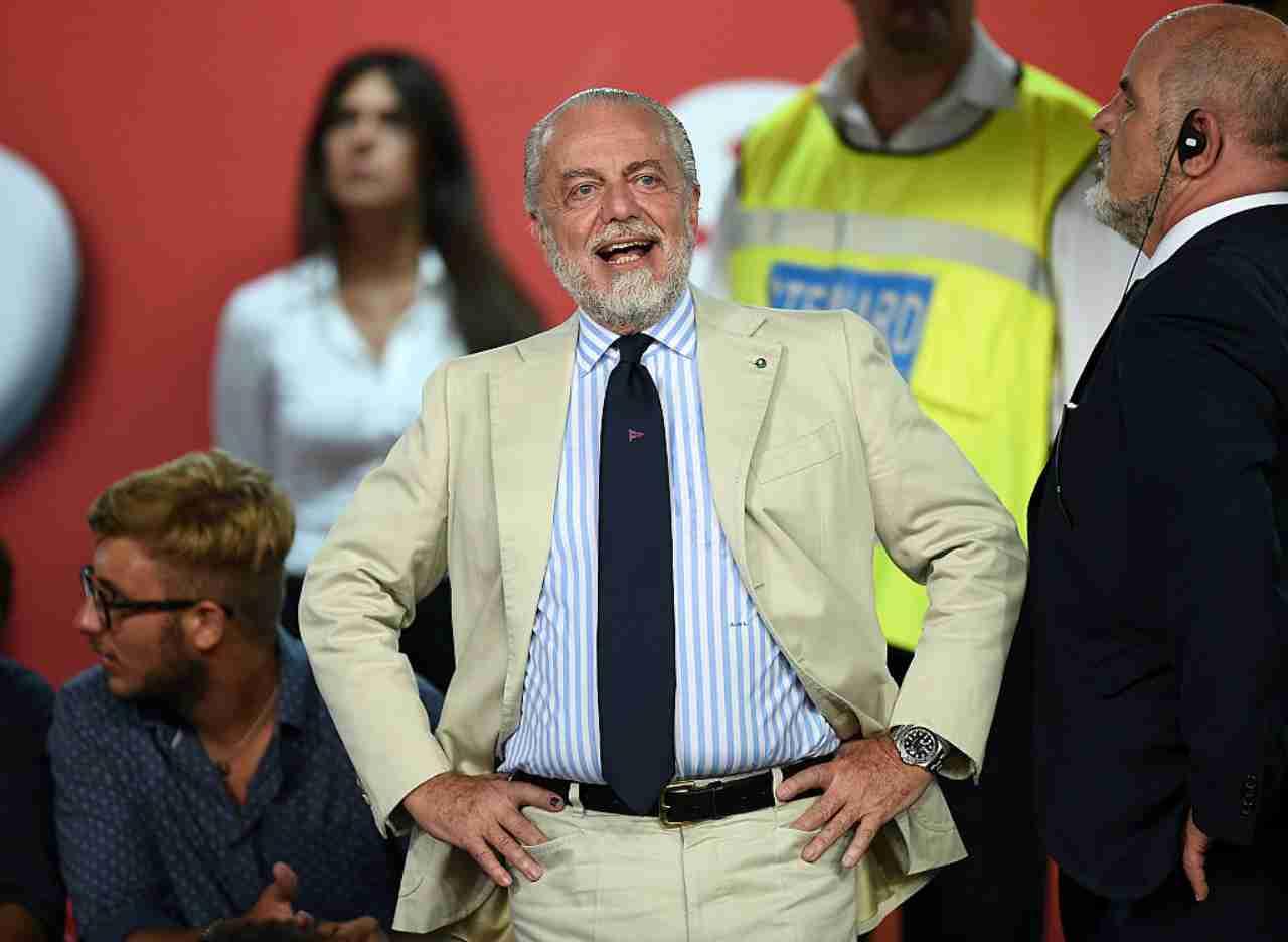 """Napoli, De Laurentiis show: """"Ciclo con Gattuso, Ancelotti un incidente"""""""