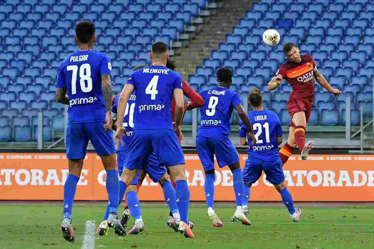 Moviola Roma-Fiorentina: due rigori ai giallorossi, l'analisi