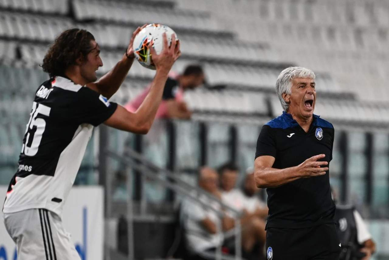 """Juve-Atalanta, Gasperini polemico sui rigori: """"Netti, nettissimi"""" (Getty Imahes)"""