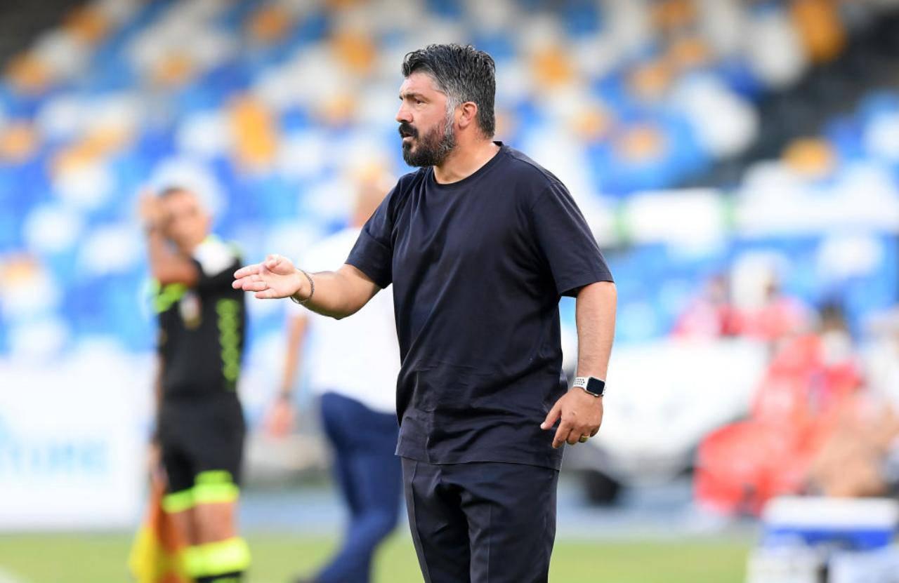 """Atalanta-Napoli, Gattuso: """"I gol ce li siamo fatti da soli. Partita buttata"""" (Getty Images)"""