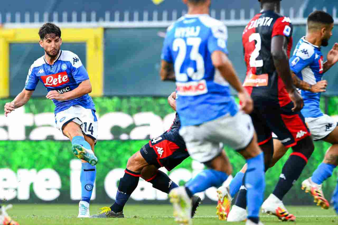 Genoa-Napoli, gli highlights del match