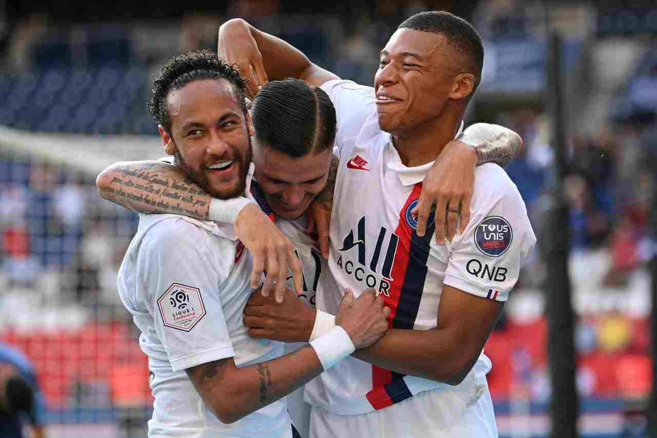 PSG, obiettivo Champions League